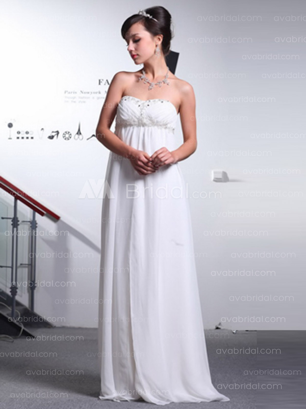 Grecian Wedding Dress.Grecian Wedding Dress Valentina