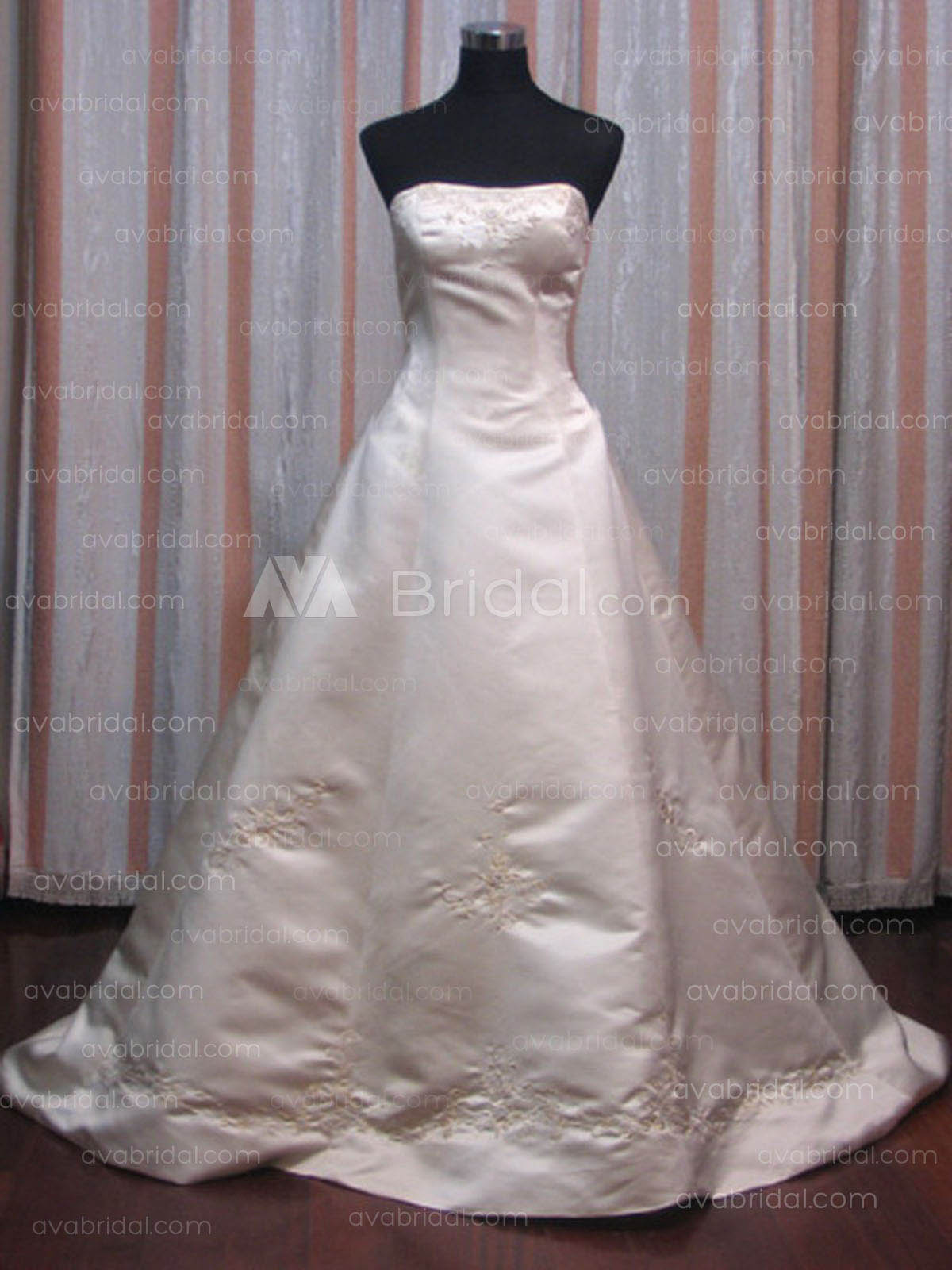 Modest Bridal Gown - Tanya - Front