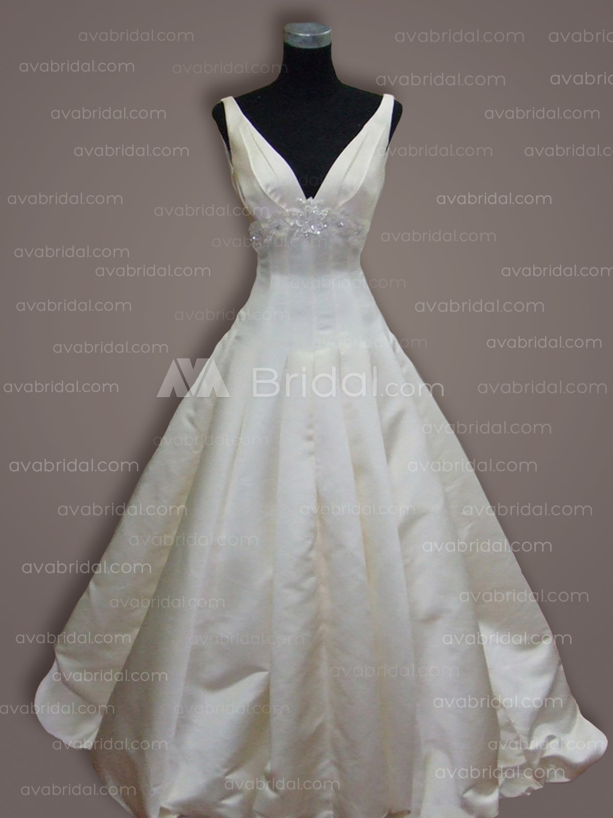 Simple Ball Gown - Suri - Front