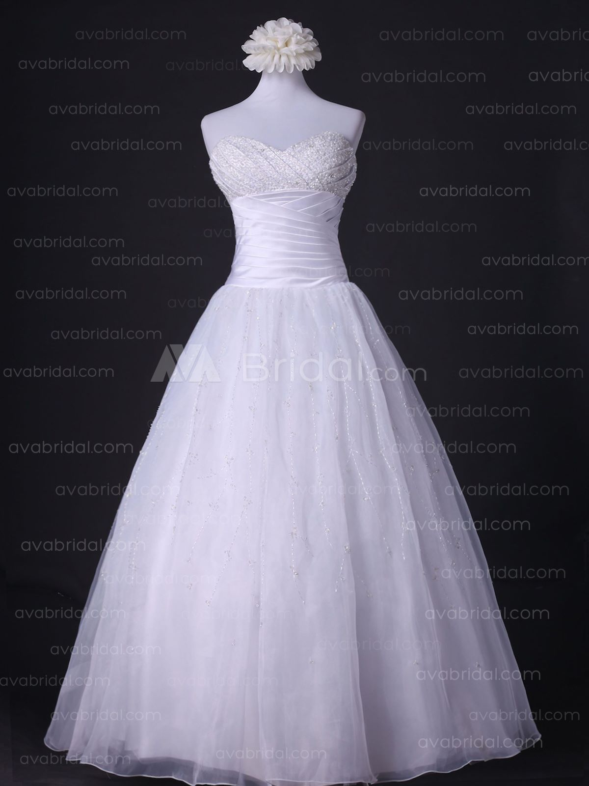 Princess Wedding Dress - Kelley- Front