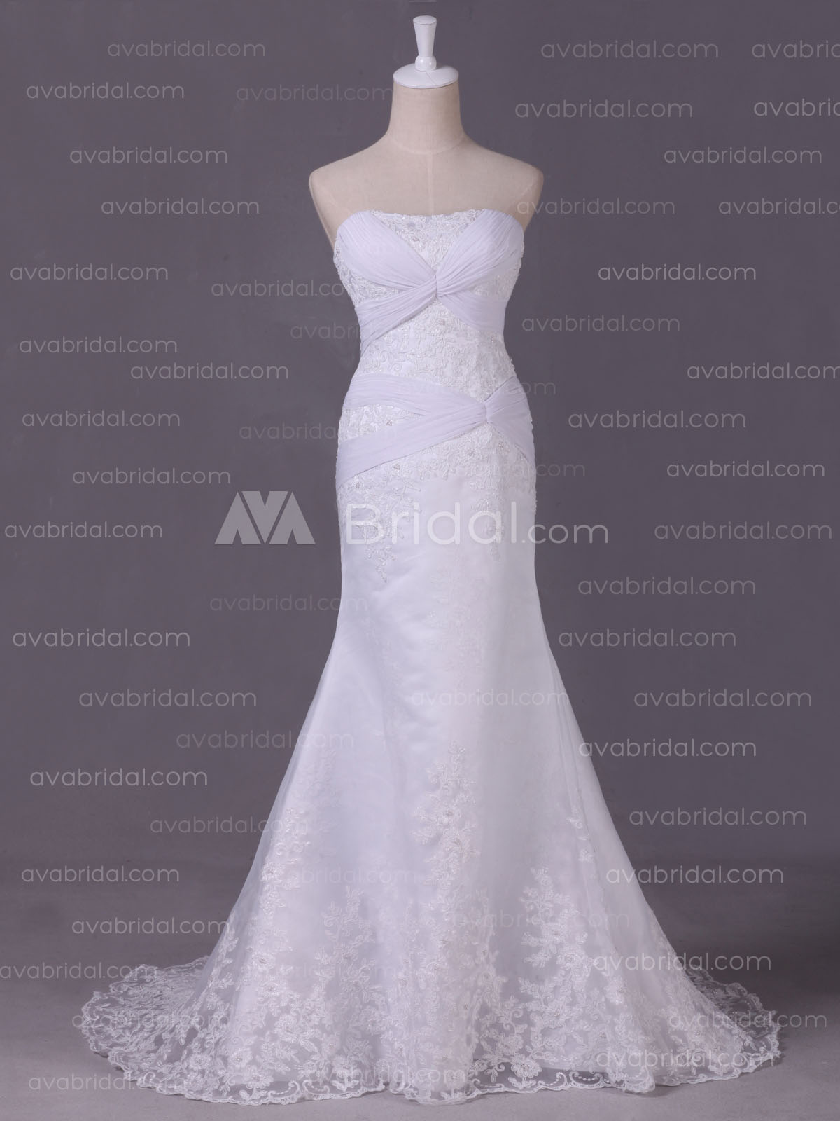Elegant Wedding Dress - Naomi -Front