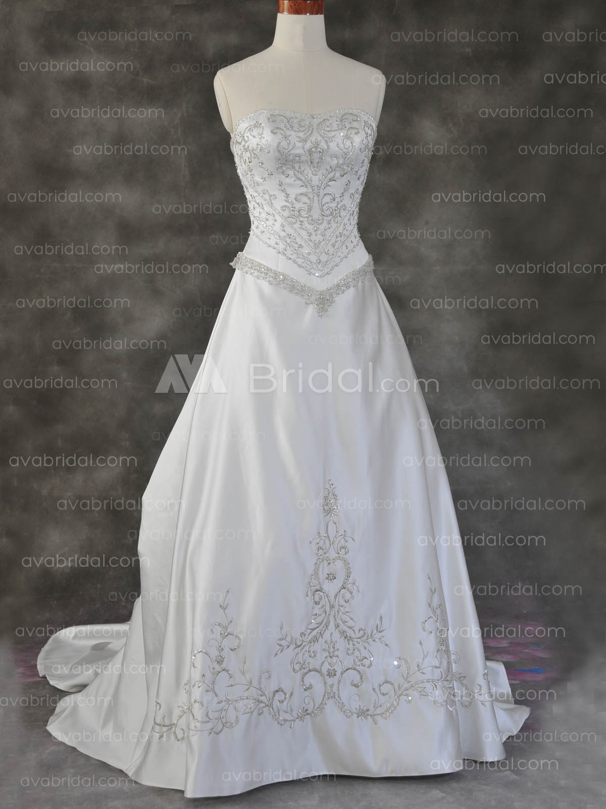 Traditional Wedding Gown - Talyssa-Front