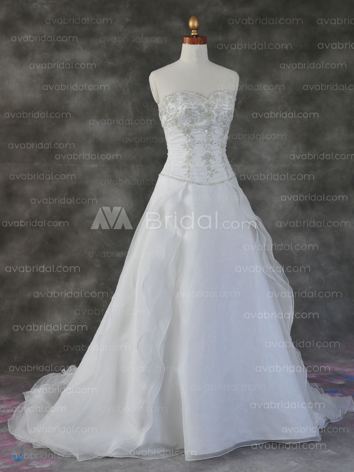 Unique Wedding Gown - Poloma - Front