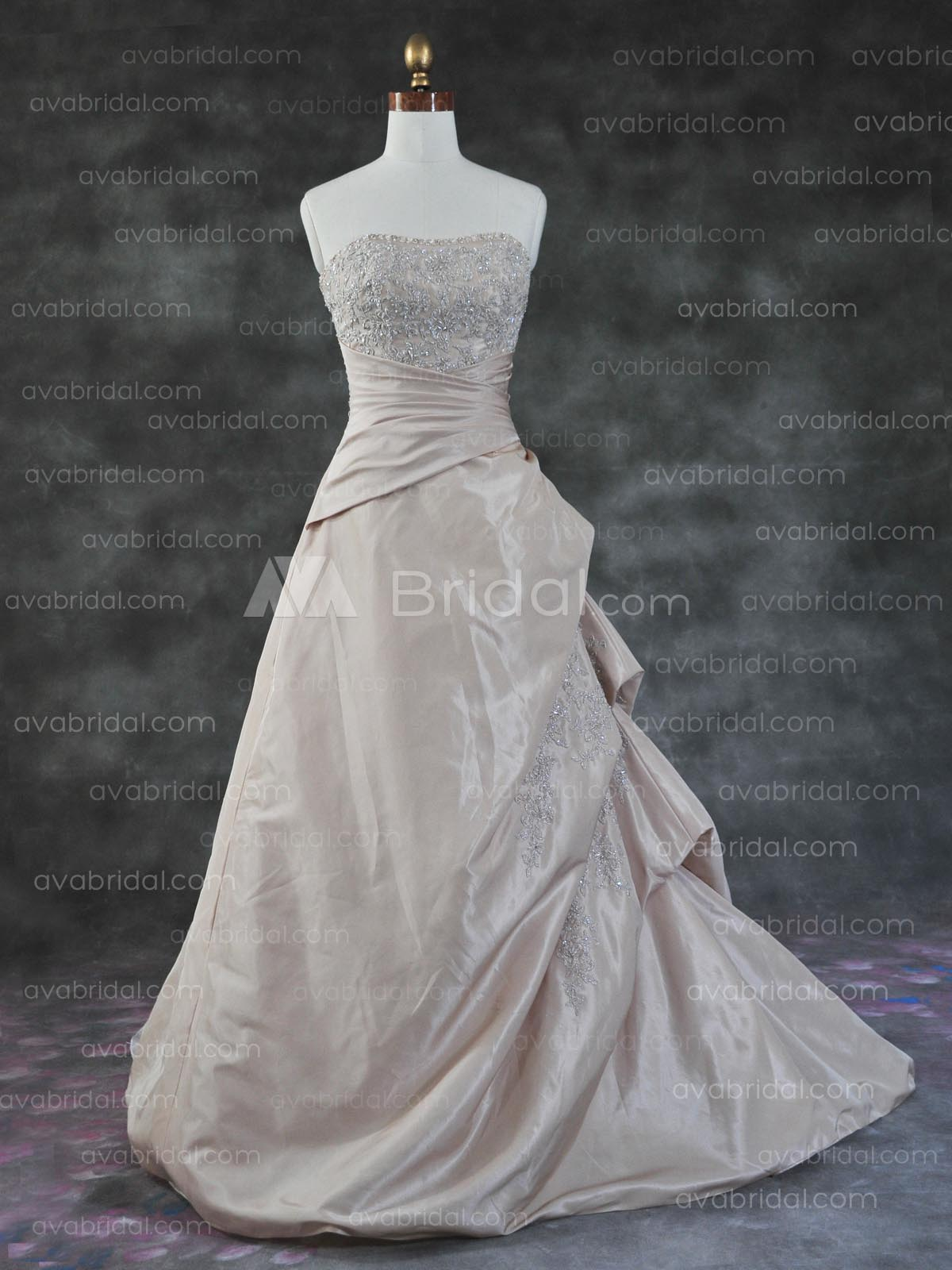 Colored Bridal Gown - Shondra
