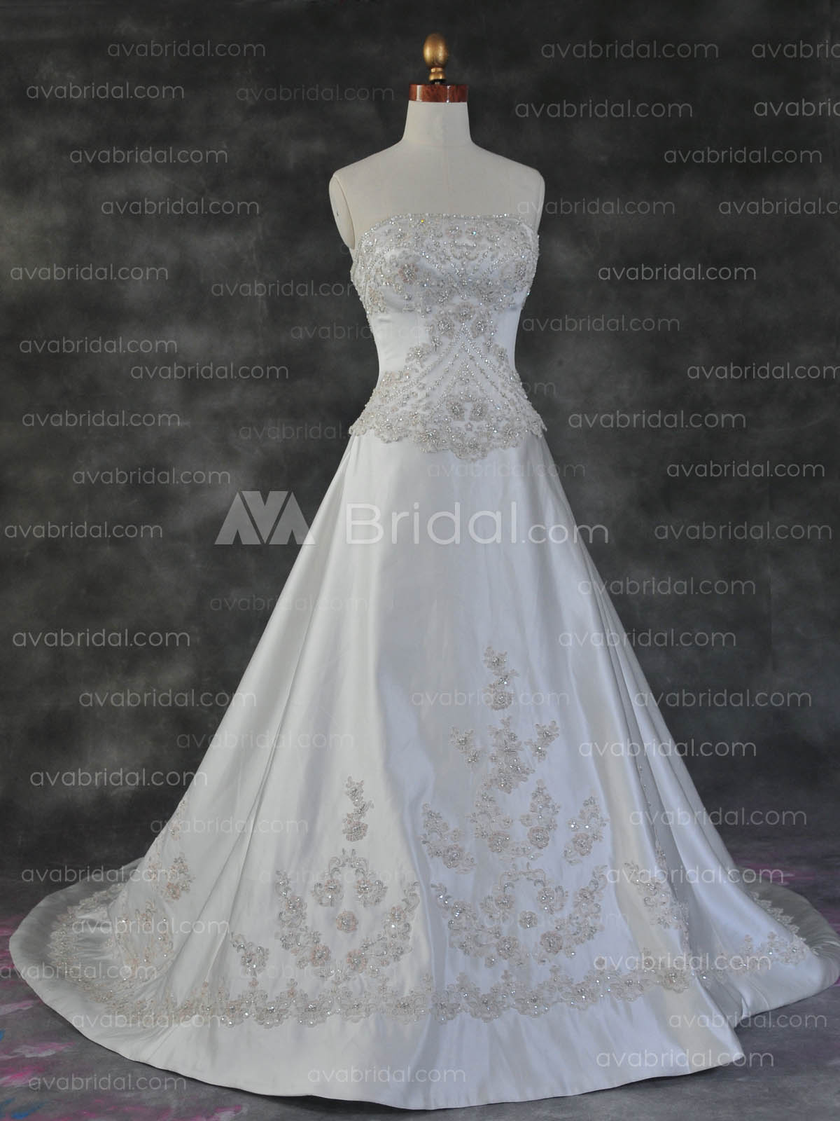 Luxurious Bridal Gown - Giselle - Front