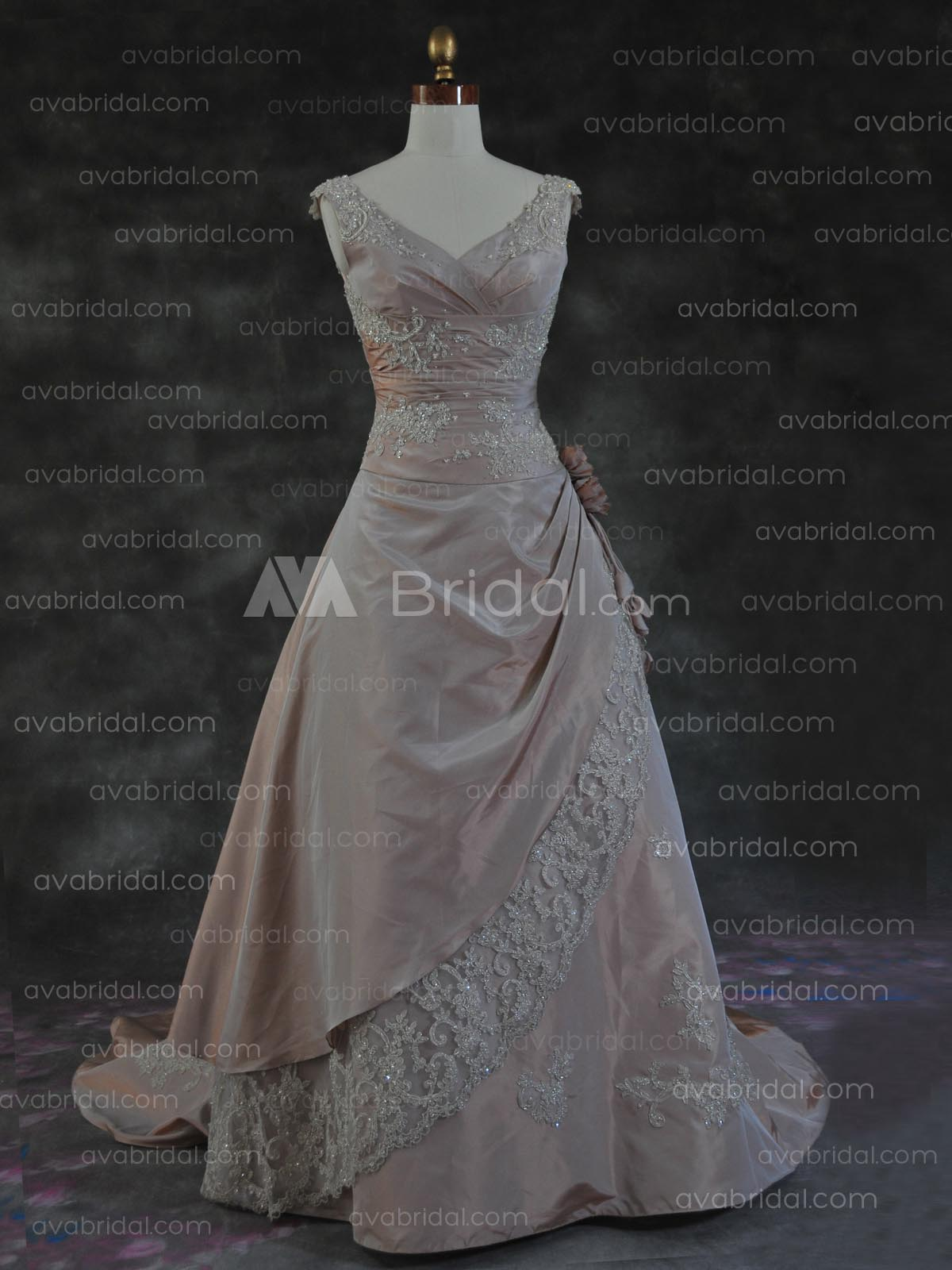 Winter Wedding Dress - Lyndall - Front