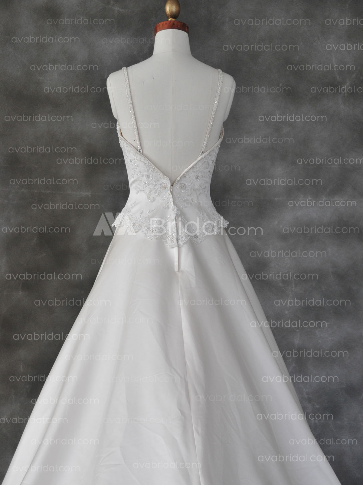 Plus Size Wedding Dresses Va : Plus size wedding gown yelisa