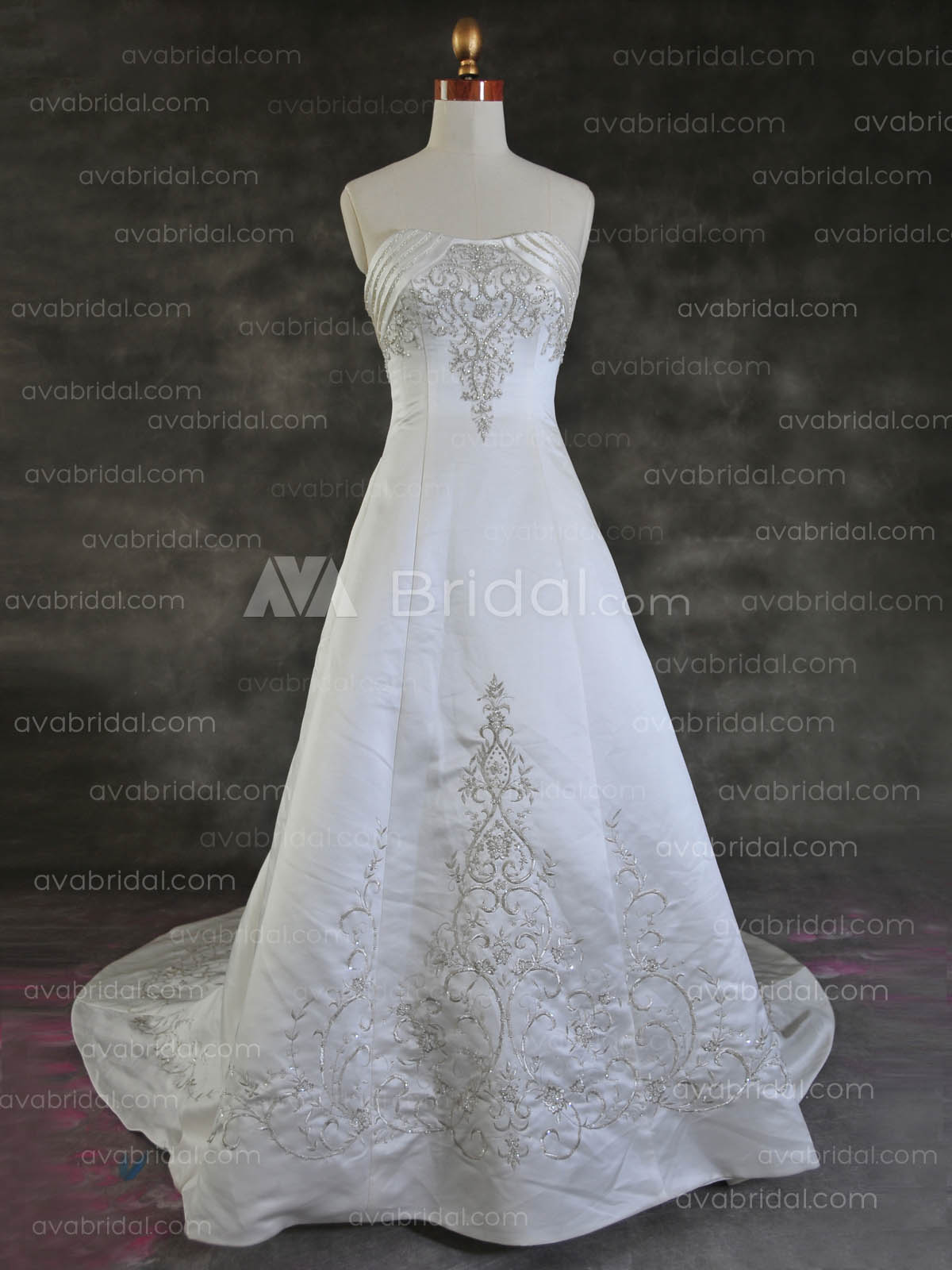 Traditional Bridal Gown - Tyler - Front