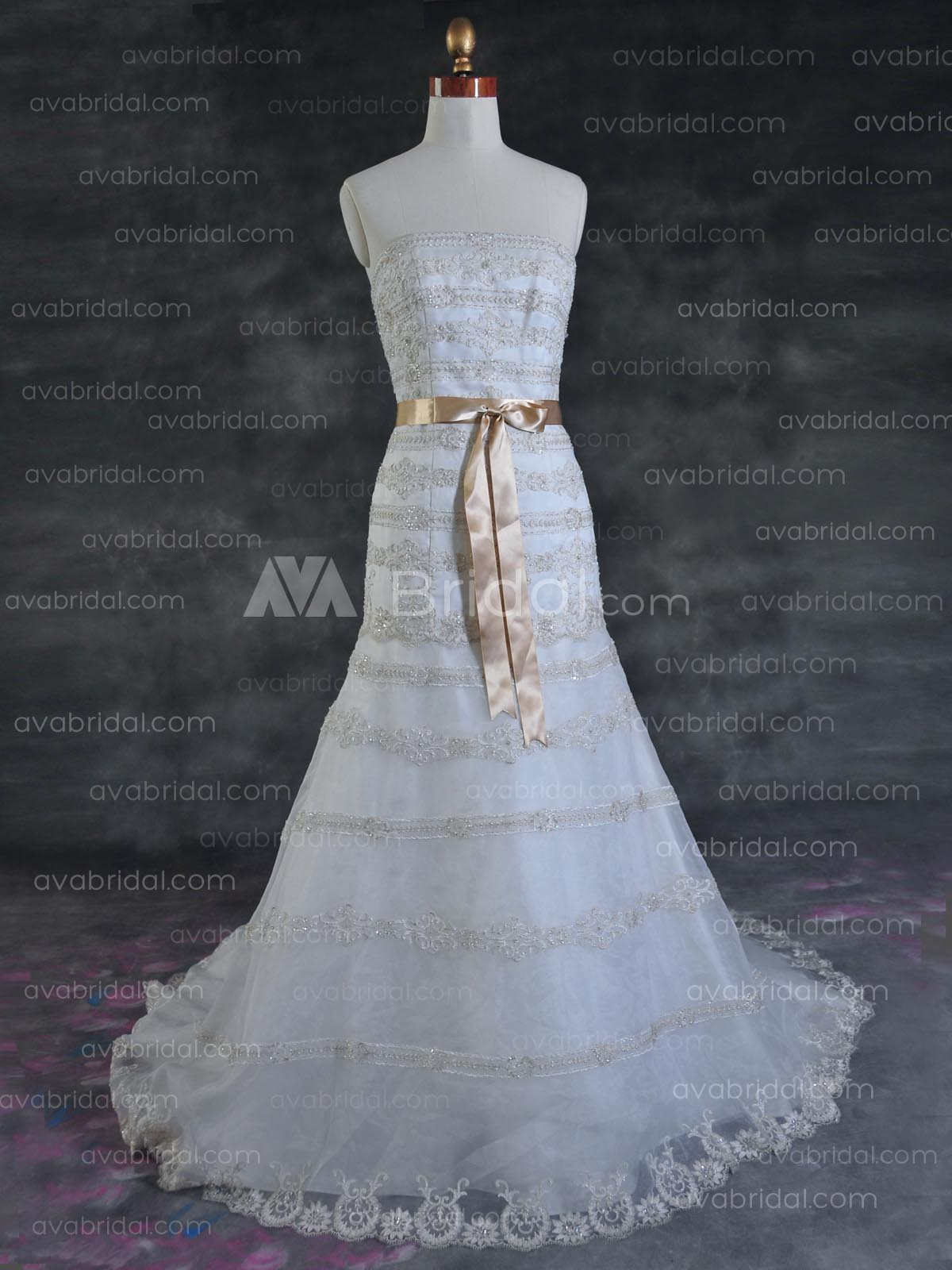 Modern Wedding Dress - Jetta - Front