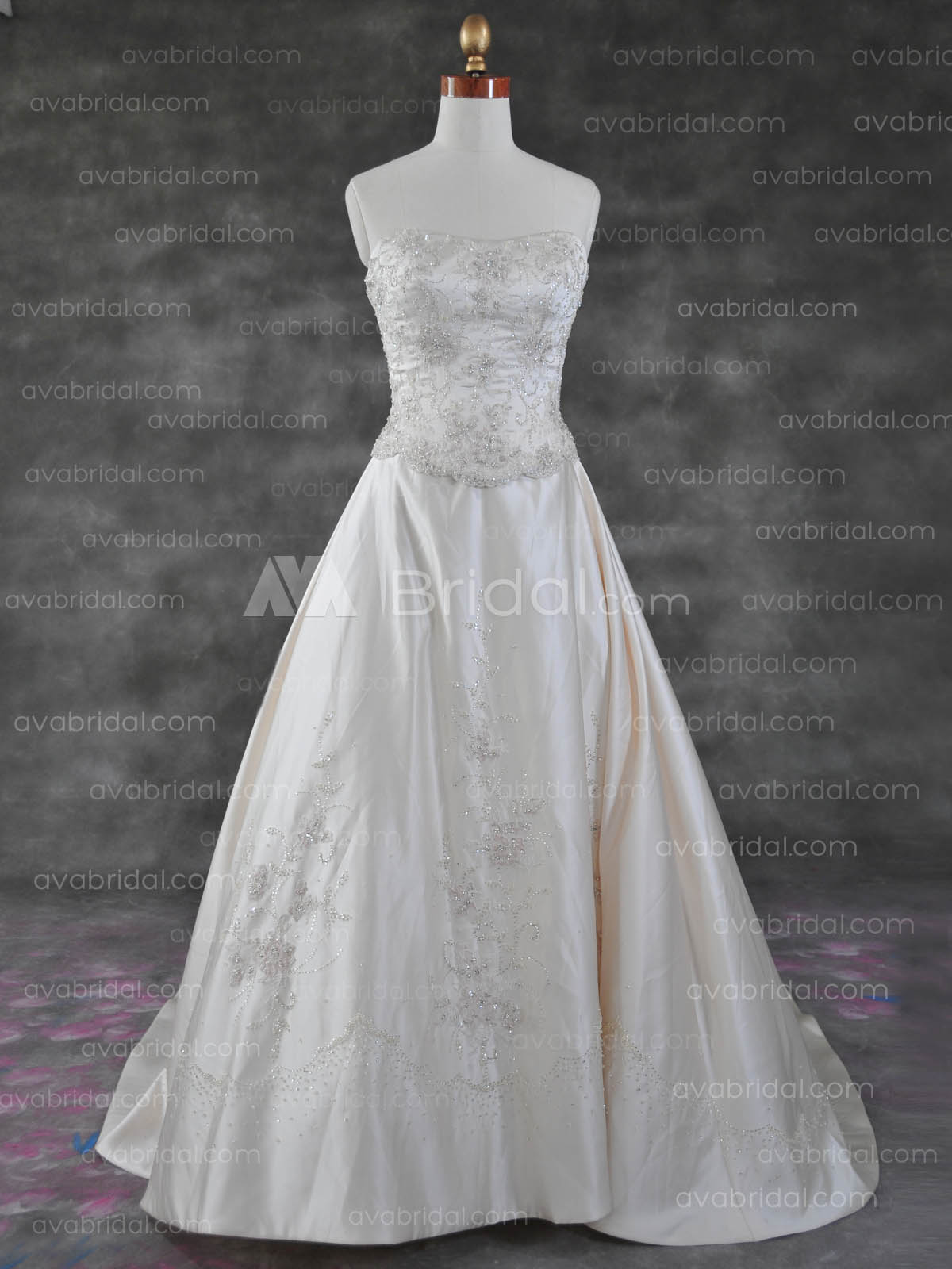 Traditional Wedding Gown - Carrie - Front