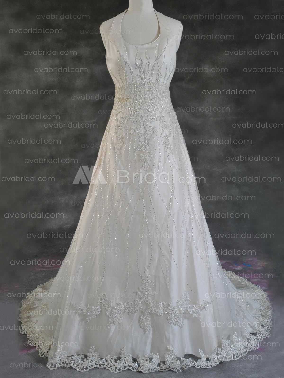 Spring Wedding Dress - Kambell - Front