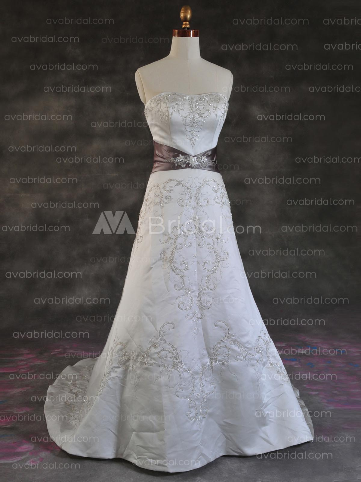 Sumptuous Wedding Gown - Nevish - Front