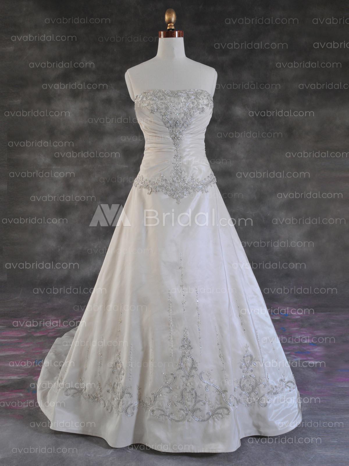 Plus Size Wedding Gown - Belle - Front