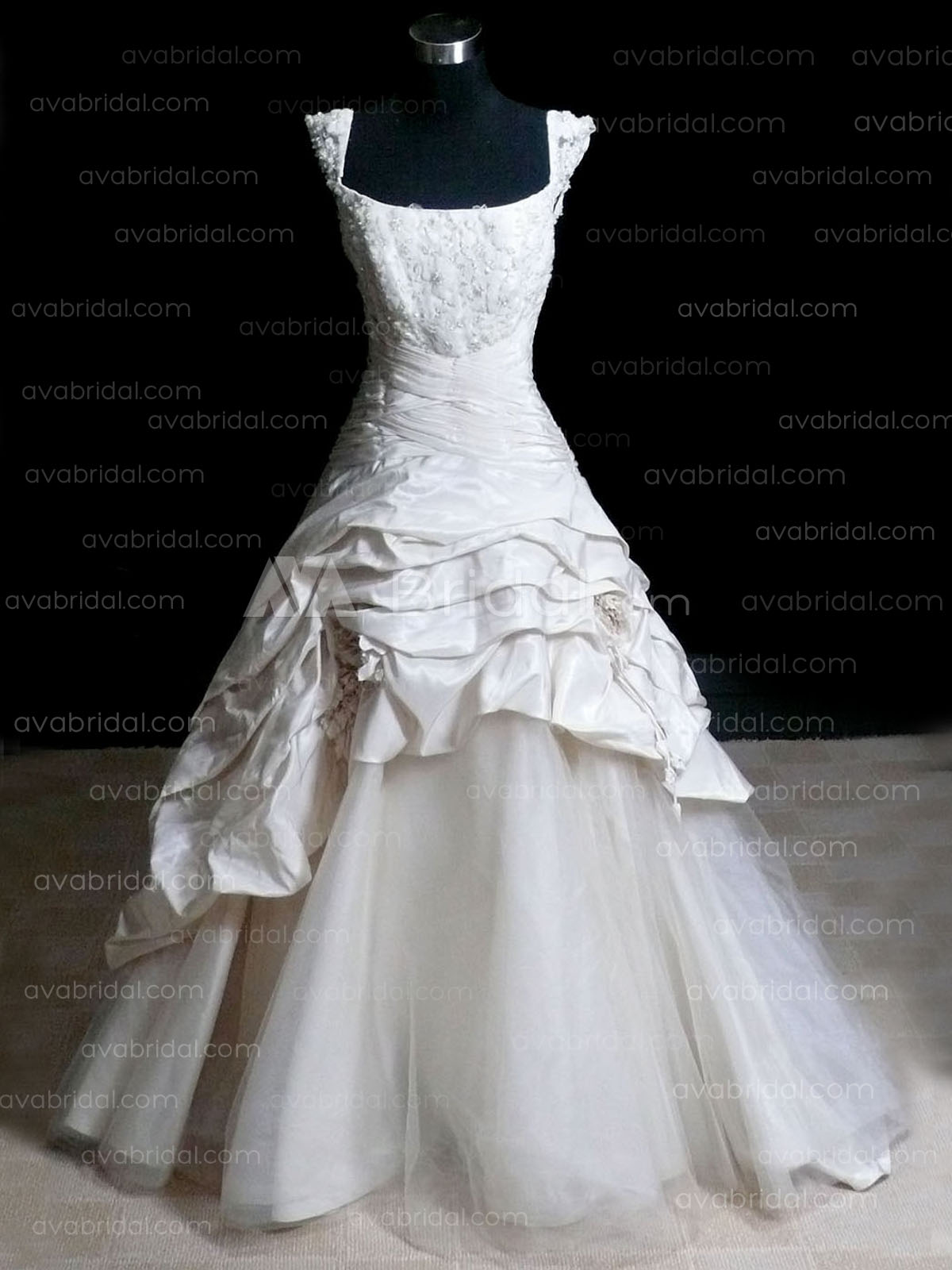 Modern Wedding Dress - Bethany - Front