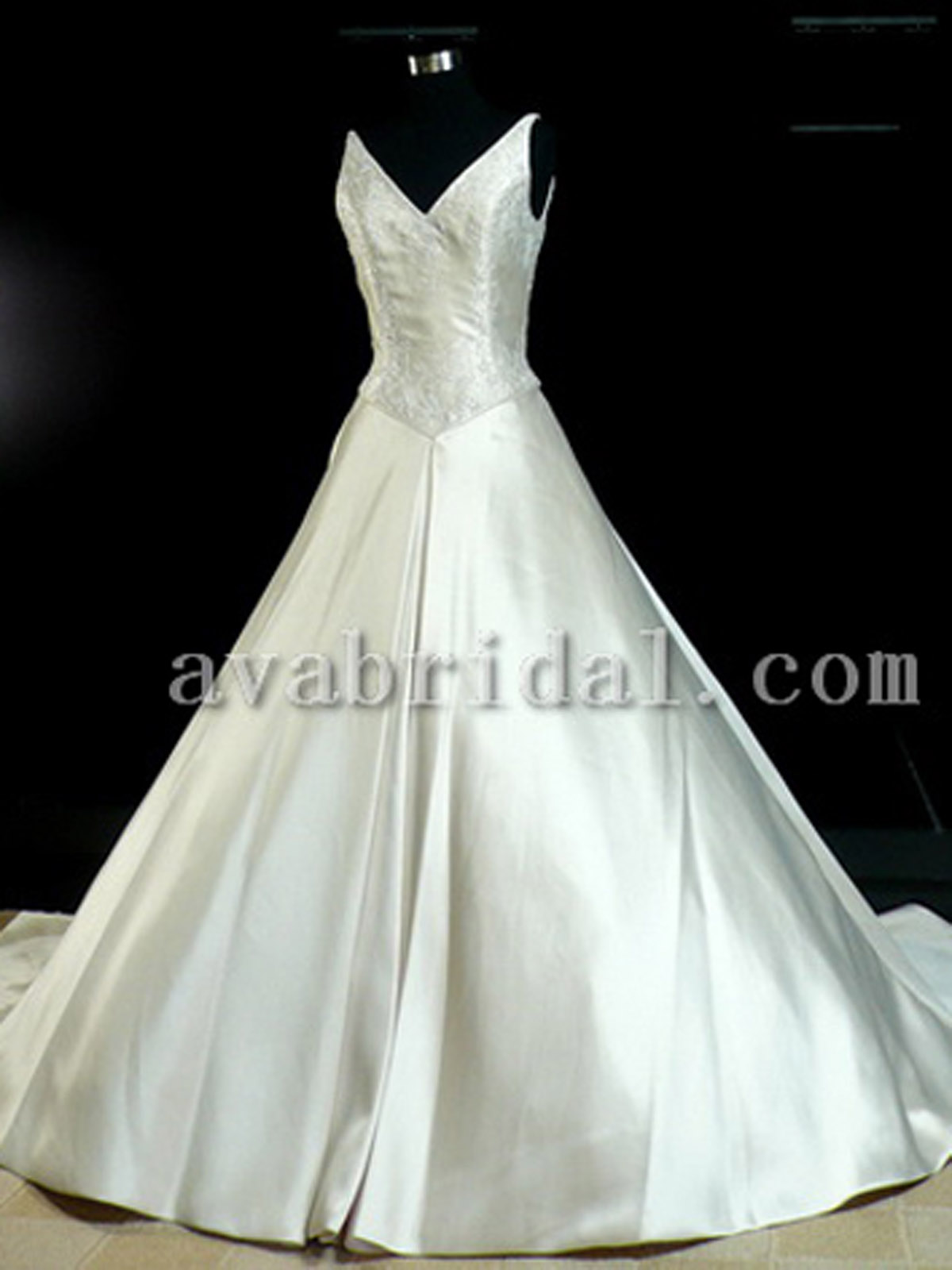 Royal Wedding Gown - Wilma - Front