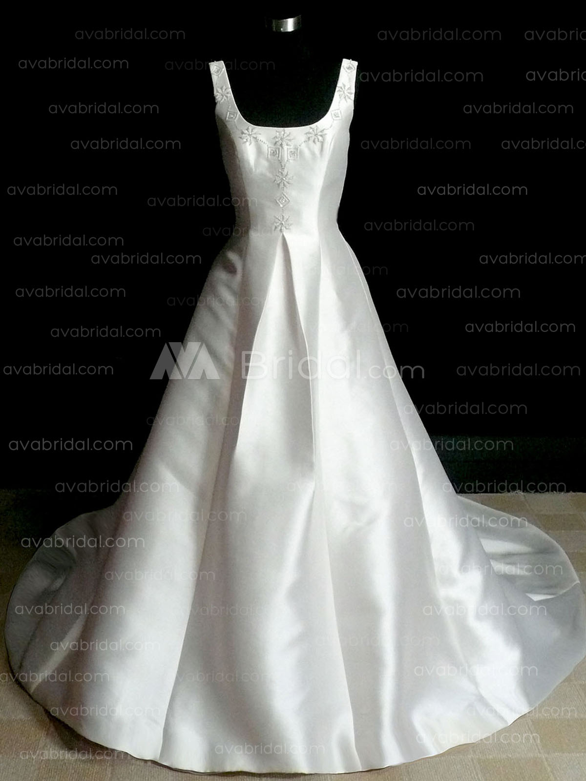 Modest Wedding Gown - Kylie - Front