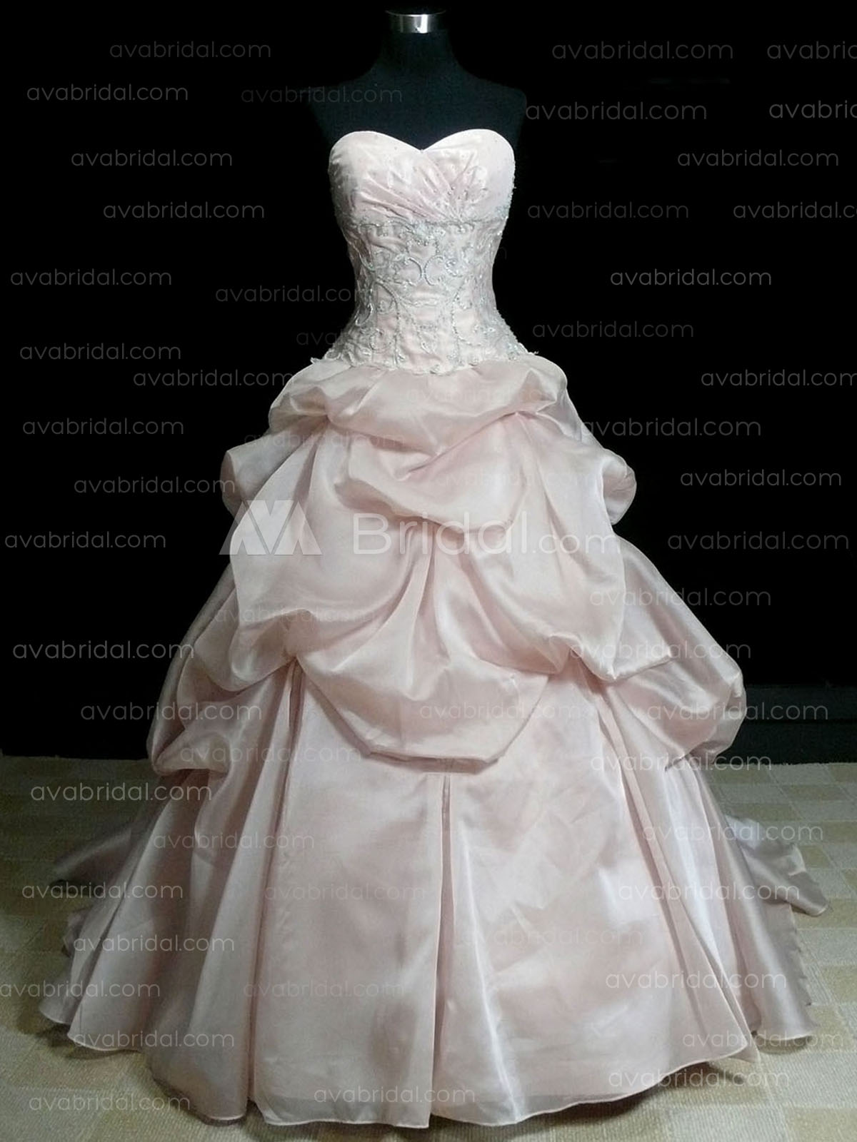 Pink Ball Gown - Maryanne - Front