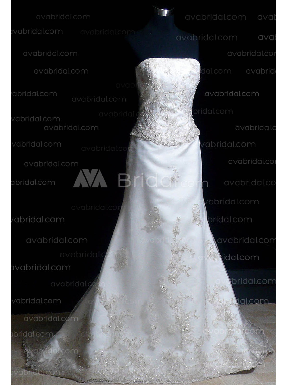 Classic Wedding Dress - Zola - Front