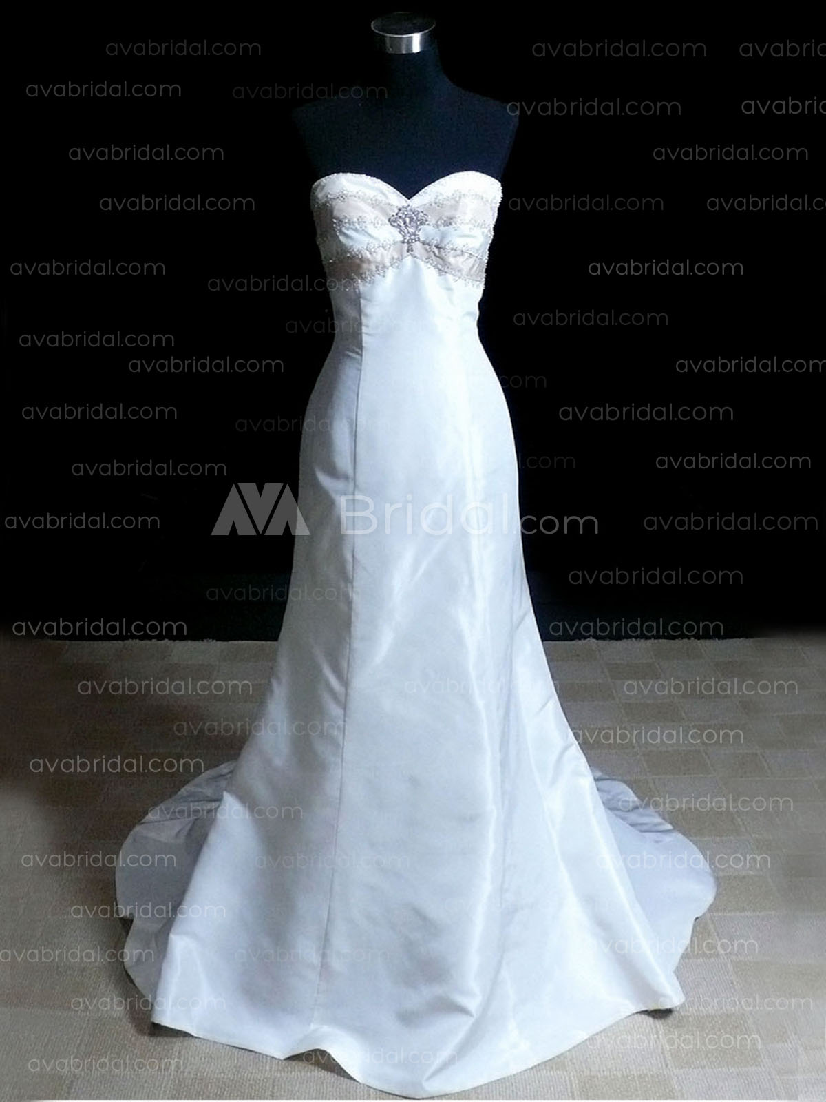 Simple Wedding Gown – Karalan -Front
