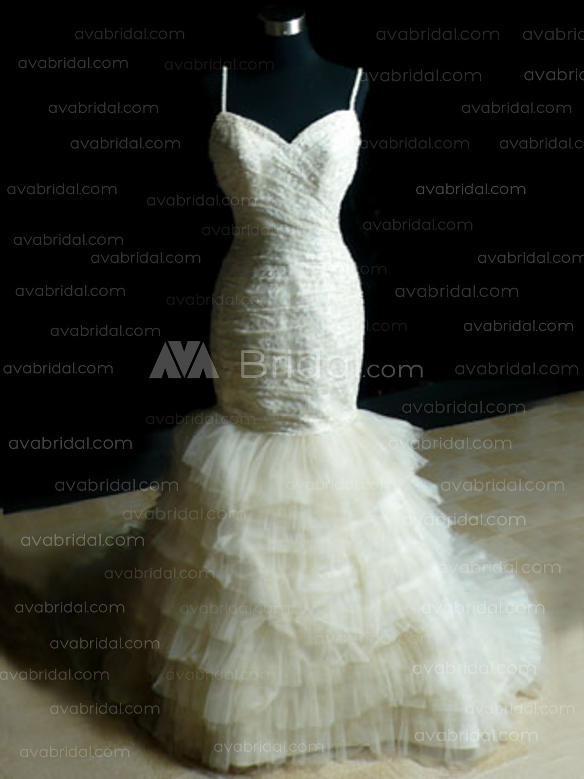 Modern Wedding Dress - Karen - Front