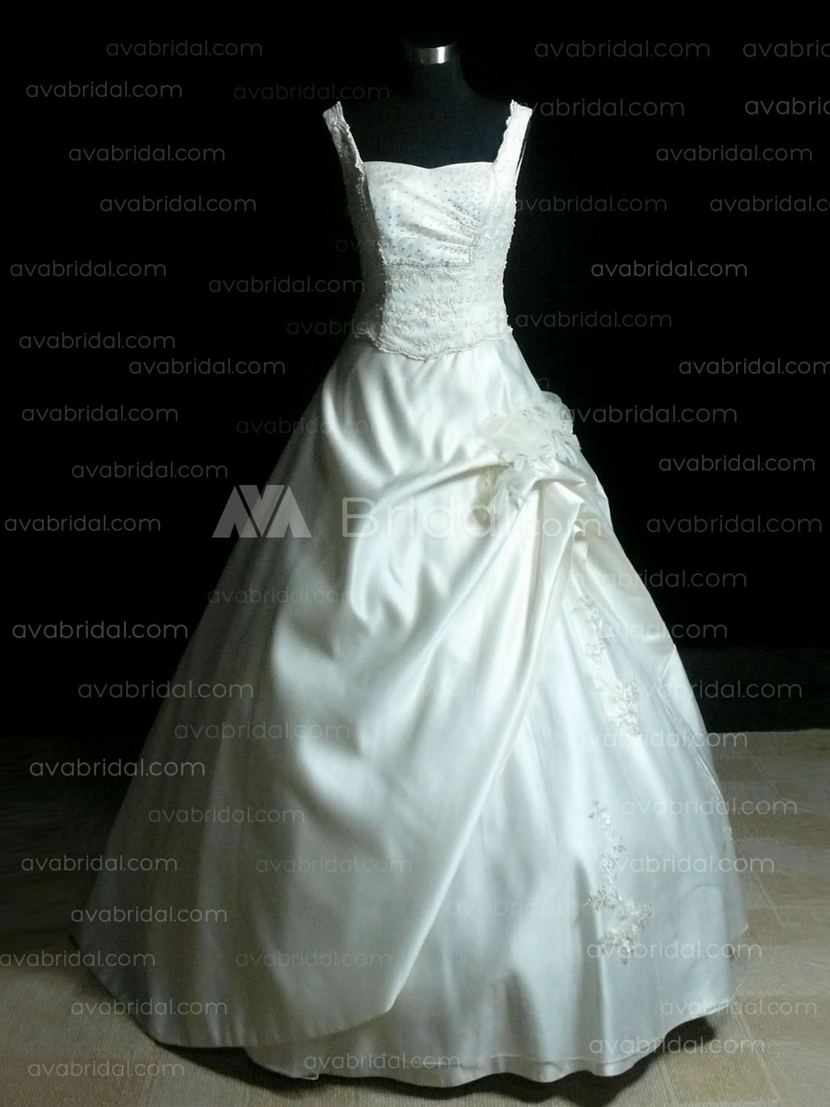 Unique Ball Gown - Frona - Front