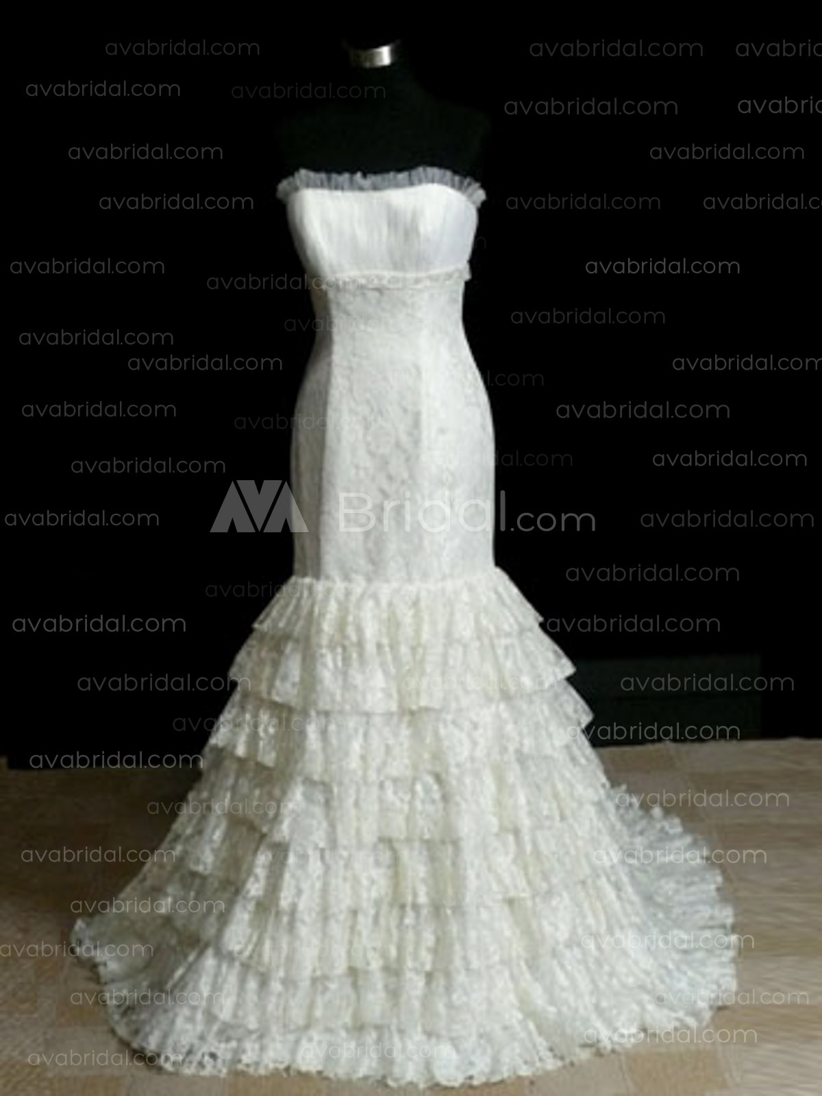 Lace Chic Wedding Dress - Minnie - Front