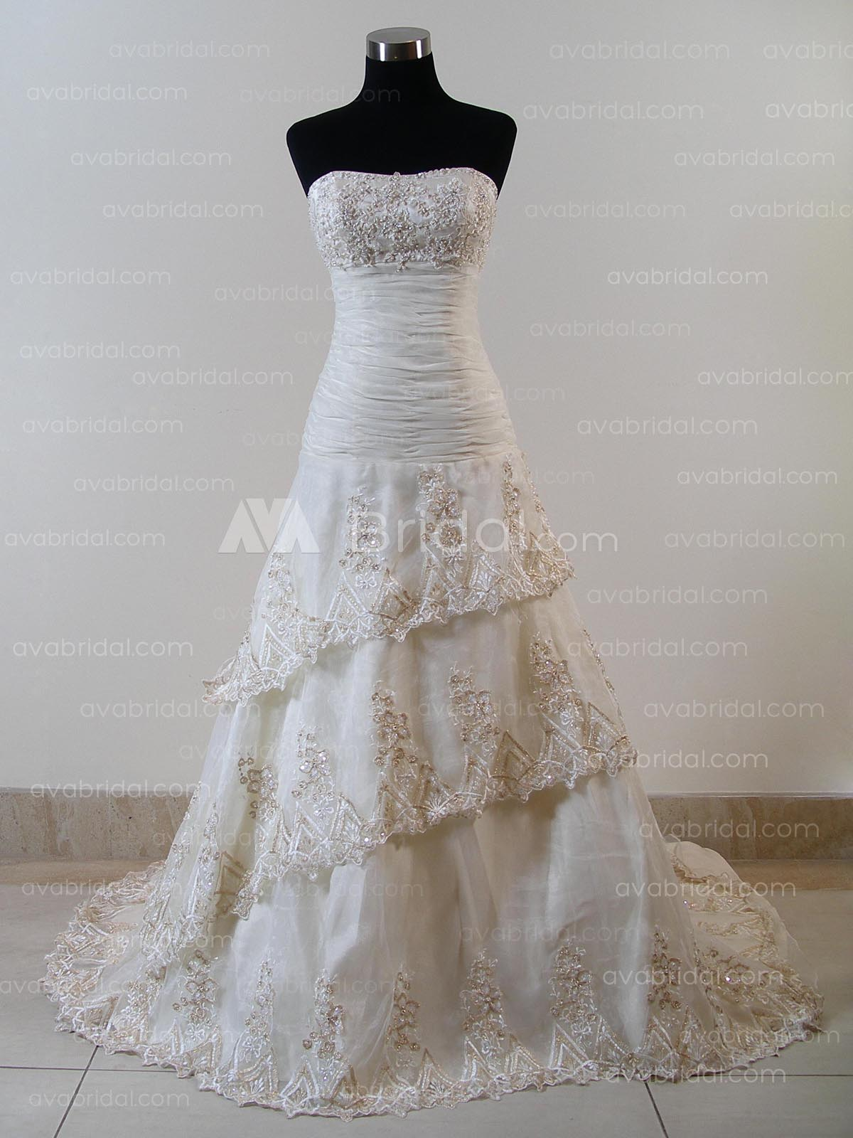 Modern Bridal Gown - Mabelle - Front