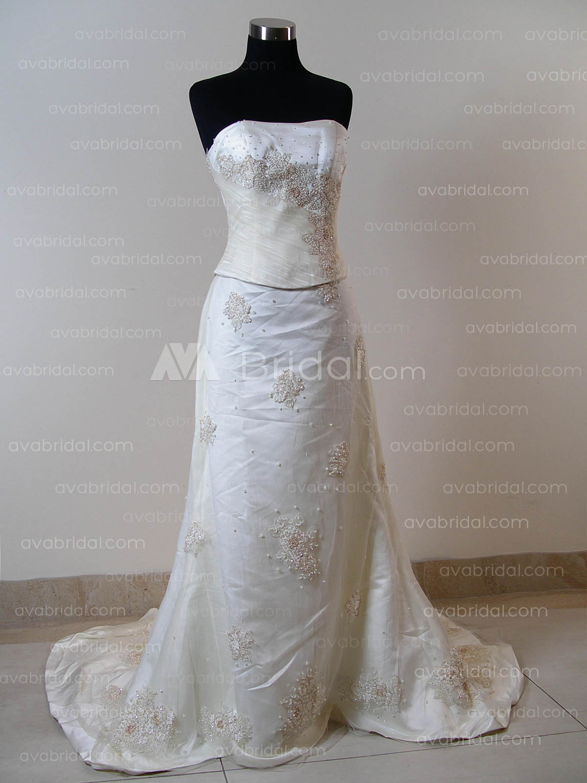 Traditional Wedding Gown - Valicity - Front