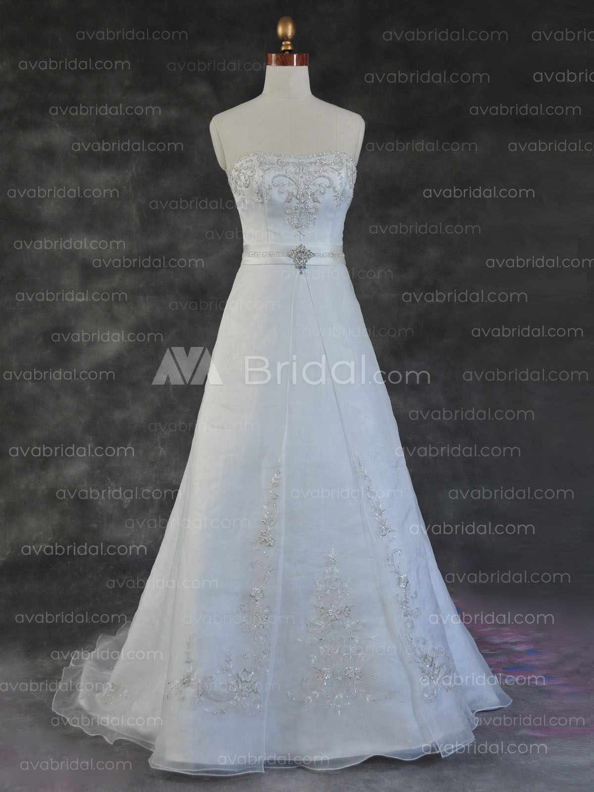 Modest Bridal Dress - Reaghan - Front