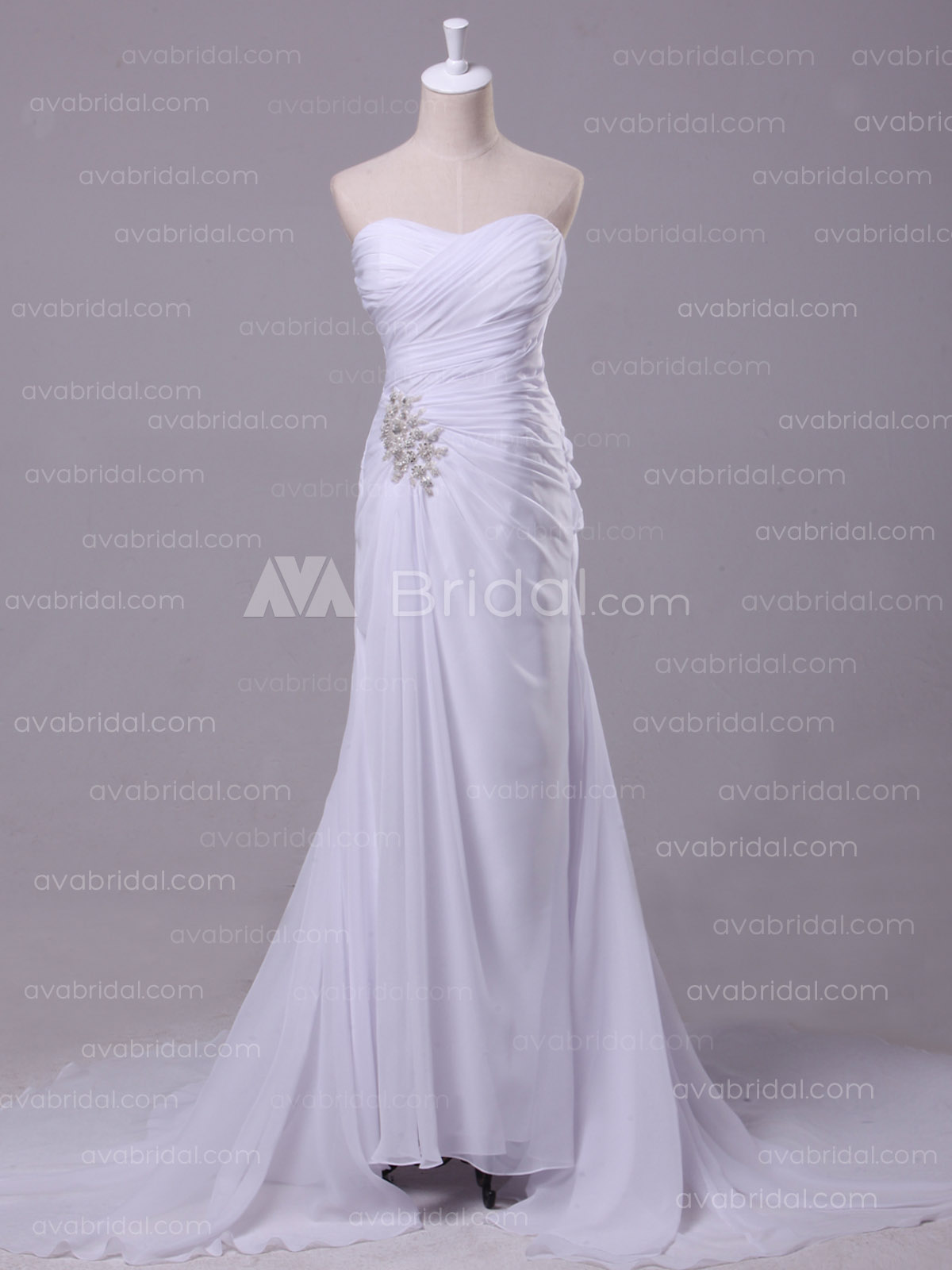 Casual Wedding Dress - Sylvina - Front