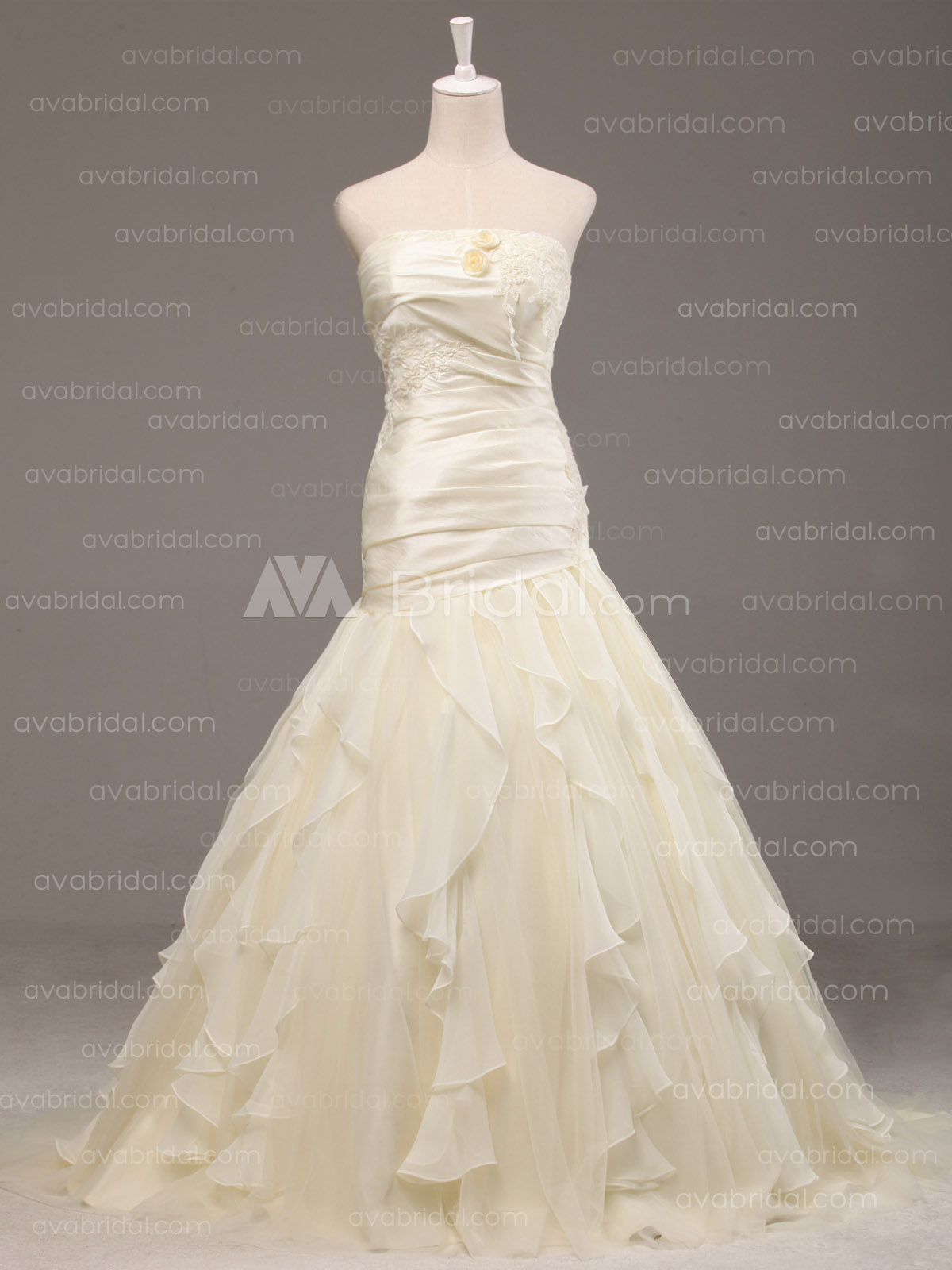 Modern Wedding Dress - Ethel - Front