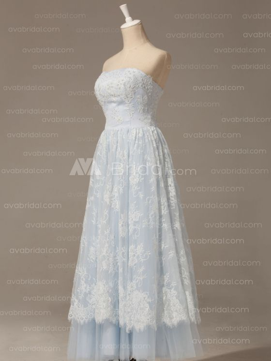 Alternative Wedding Dress - Berdine - Left Side Without Petticoat