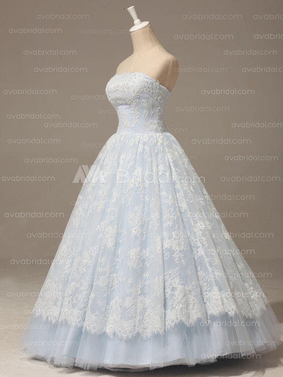 Altenative Wedding Dress - Bethel - Left Side