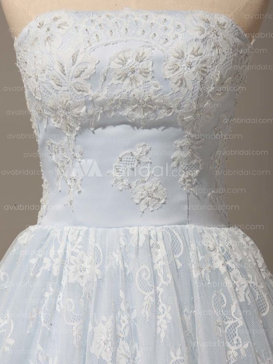 Alternative Wedding Dress -  Bethel - Front Bodice