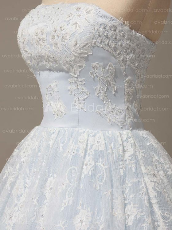 Alternative Wedding Dress -  Bethel - Left Side Bodice