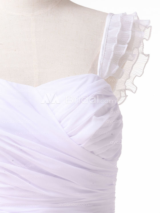 Beach Wedding Dress - Daryl - Left Bodice