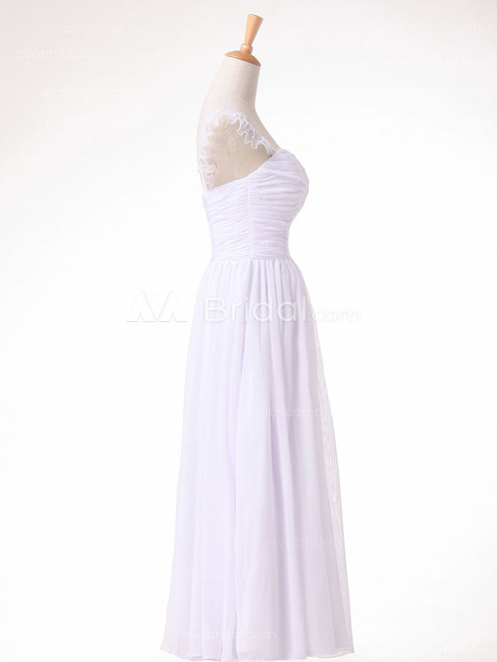Beach Wedding Dress - Daryl - Right Side
