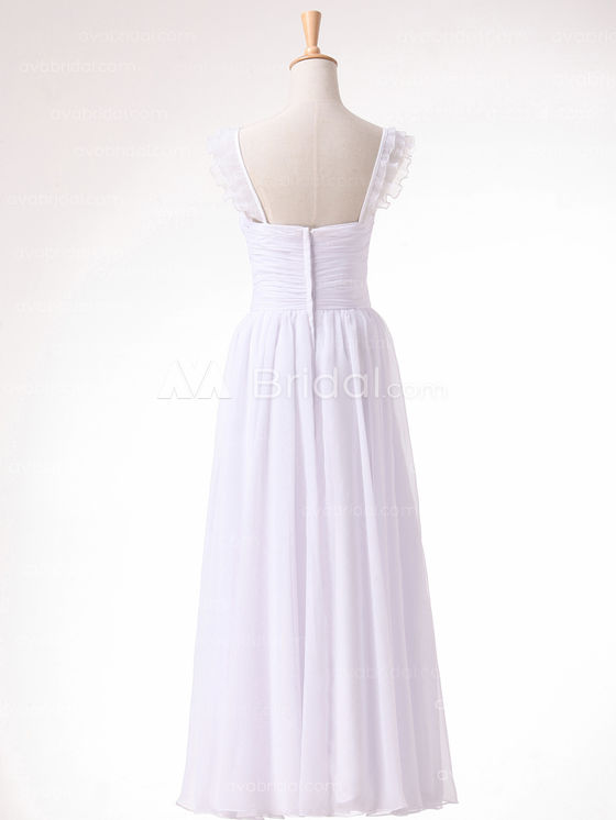 Beach Wedding Dress - Daryl - Back