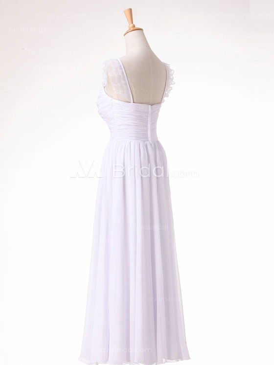 Beach Wedding Dress - Daryl - Left Side