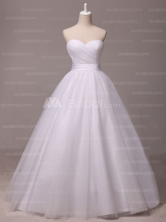 Simple Wedding Dress - Shannelle - Front