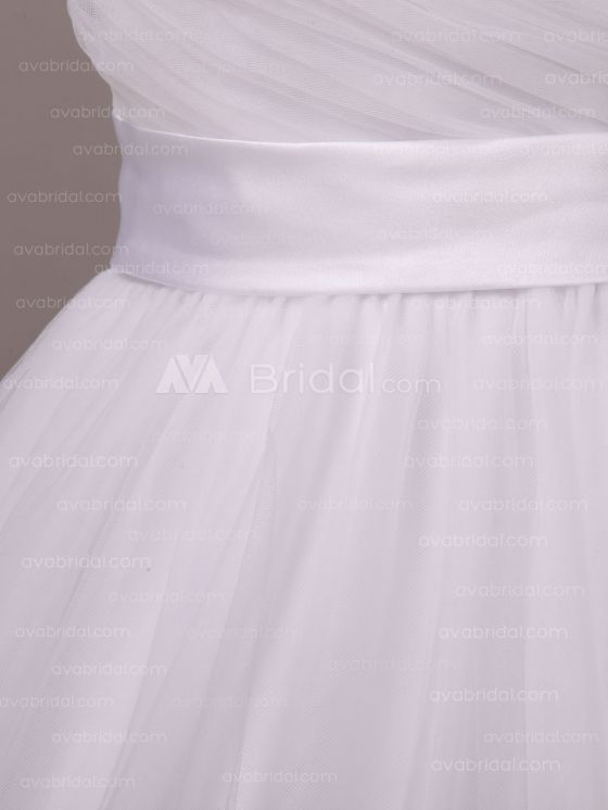 Simple Wedding Dress - Shannelle - Belt