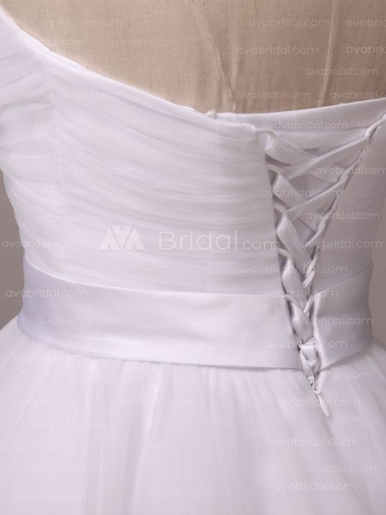 Simple Wedding Dress - Shannelle - Left