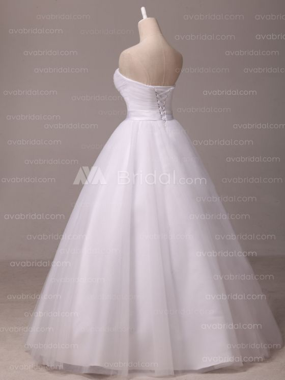 Simple Wedding Dress - Shannelle - Left Side