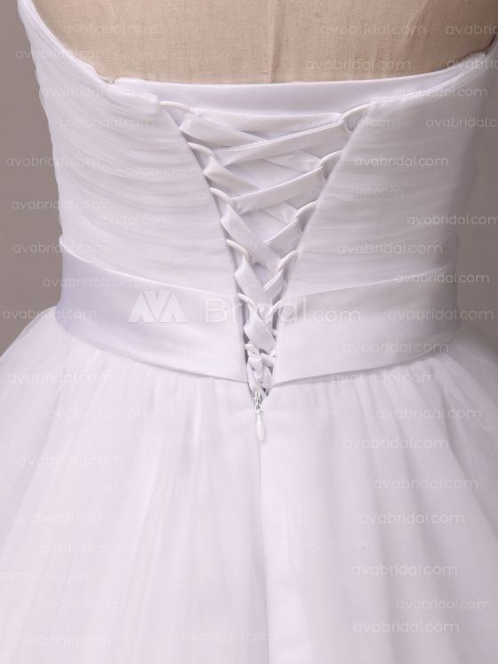 Simple Wedding Dress - Shannelle - Back Closure