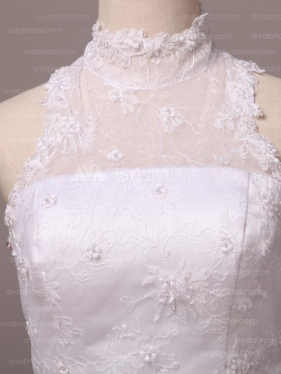 Vintage Inspired Wedding Dress - Ierne - Front Bodice