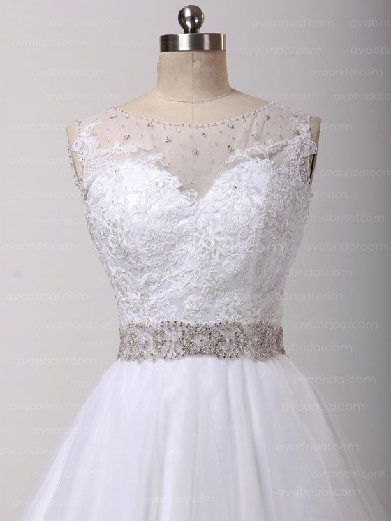 Gorgeous Vintage Wedding Dress – Abriana - Front Bodice