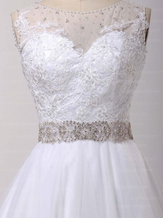 Gorgeous Vintage Wedding Dress – Abriana - Embellishment