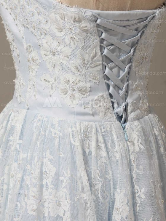 Alternative Wedding Dress - Berdine - Back Of Bodice