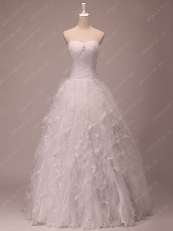 Princess Wedding Dress - Joanna  - Front