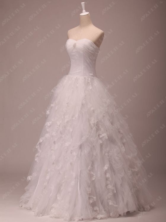 Princess Wedding Dress - Joanna  - Bodice